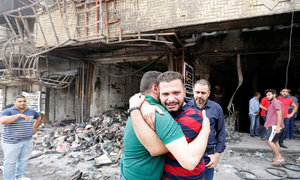 Iraqis want crackdown on 'sleeper cells' after huge Baghdad bomb