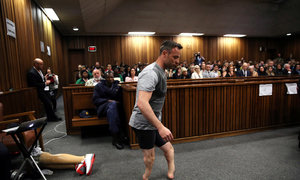 Pistorius jailed for 6 years for murder of girlfriend