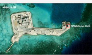 Beijing will not 'step back' in 'South China Sea'