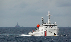 China holds combat drill in the 'South China Sea'