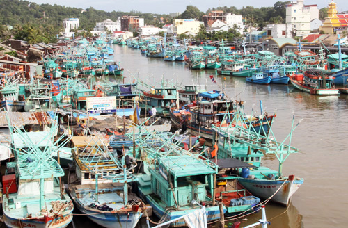 There are frequent regional conflicts between fishing groups in the southern province of Kien Giang. Photo by VnExpress/Cuu Long