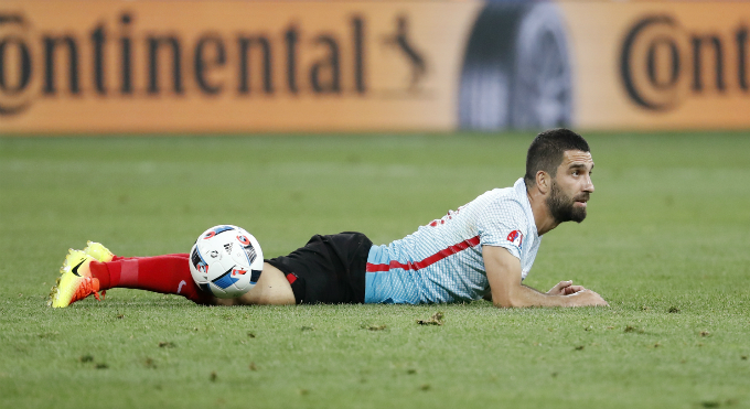 Turkeys Arda Turan. Photo by Reuters/Yves Herman Livepic