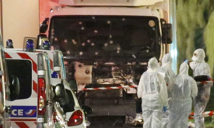 Truck attacker kills up to 84 in Nice on French national day