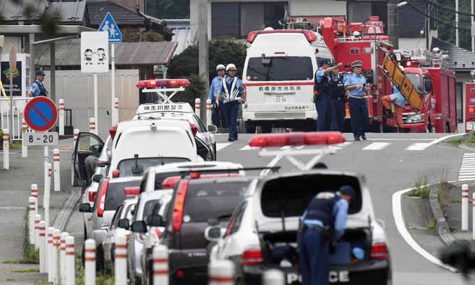 Knife attack in Japan, nineteen killed, dozens wounded