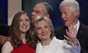 Daughter Chelsea casts Clinton as great mom, driven public servant