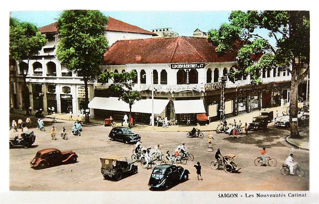 SAIGON - les Nouveautés Catinat - 1950s
