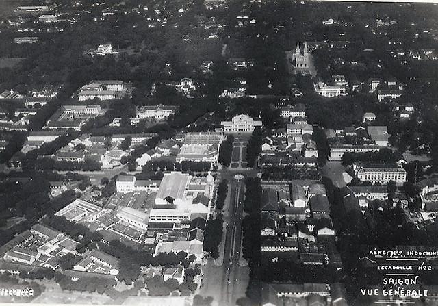Saïgon - Vue aérienne 1931
