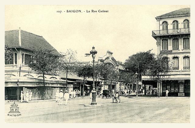 Saigon - la rue Catinat