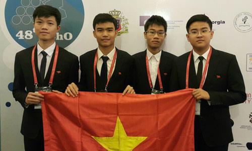 Vietnamese students strike gold at international chemistry contest
