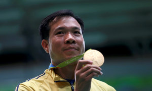 Shooter secures Vietnam's first Olympic gold medal