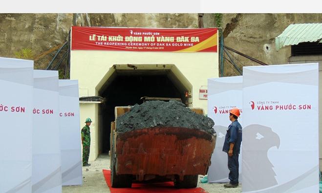 Canadian firm re-opens Vietnam gold mine