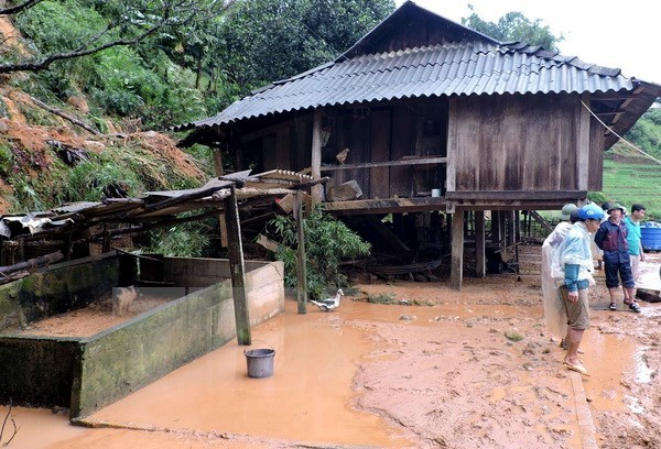 Typhoon Dianmu kills two, injures one in northern province