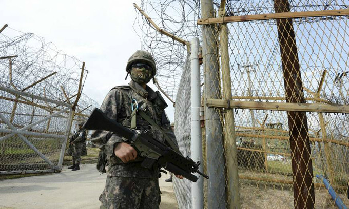 UN Command condemns North Korea mine-laying on border