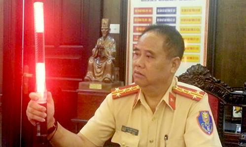 Hanoi strikes back: traffic police to wield 'lightsaber'