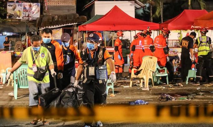Deadly Philippine bomb attack 'terrorism': Duterte