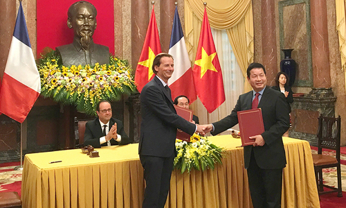 French eyes in the sky to help Vietnam monitor the environment