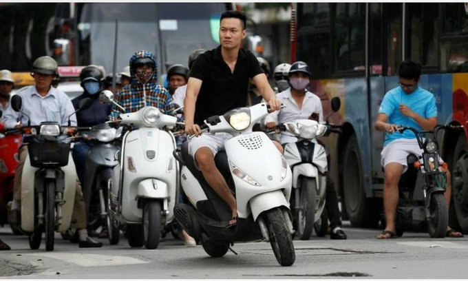 Vietnam kick-starts plans for motorbike emissions tests