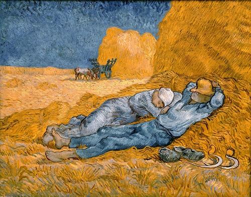 Siesta at Noon (after Millet), 1890, Musée dOrsay, Paris