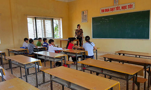 Gov't funds help 800 students return to school on Vietnam's ravaged central coast