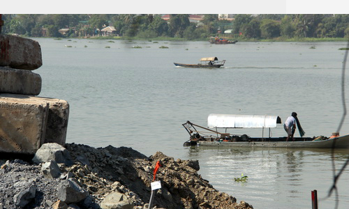 Another Taiwanese company busted for polluting Vietnam river