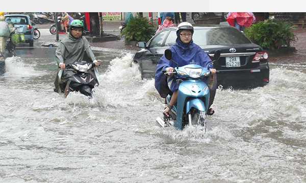 Tropical depression on collision course to Vietnam