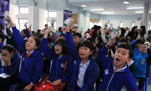 Lack of milk blamed for 'stunted' Vietnamese children