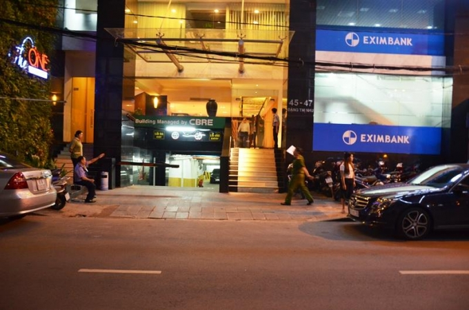 The building in Ho Chi Minh City where the Australian man was found dead. Photo from Phapluatplus.vn