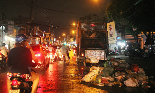 In search of treasure from trash, rivalry gears up among Saigon waste collectors