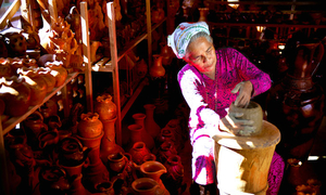 Success for women entrepreneurs in poor countries means enlisting men