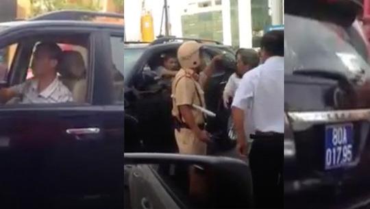 Vietnamese government car causes chaos in Saigon