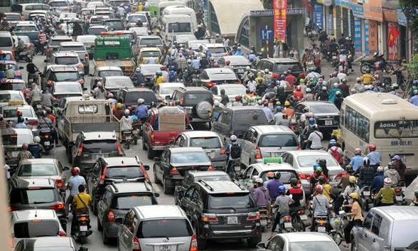 Higher tax slams the brakes on Vietnam's car imports