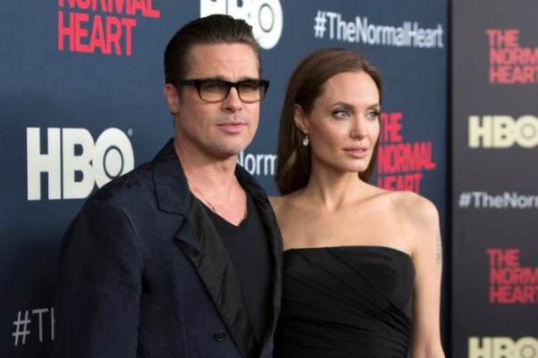 Actors Brad Pitt and Angelina Jolie attend the premiere of The Normal Heart in New York May 12, 2014. Photo by Reuters/Andrew Kelly/File Photo