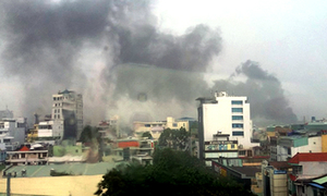 Electrical substation explodes like bomb in Saigon