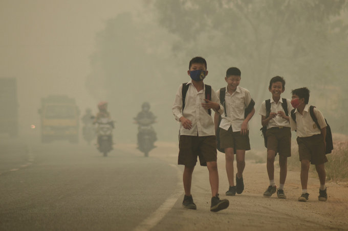 Indonesia rejects US research estimate of 100,000 'haze' deaths
