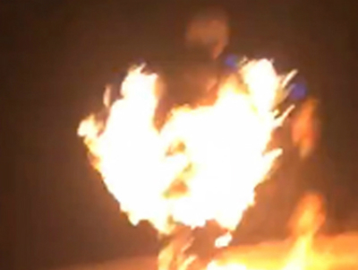 Vietnamese man feared to have set himself on fire in disturbing Facebook dare