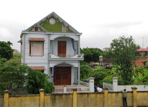 The house in Uong Bi City, Quang Ninh Province where the murder took place. Photo by VnExpress