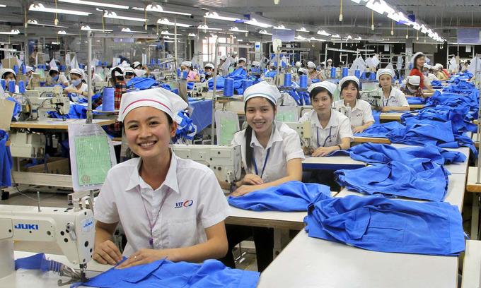 Happier workers, higher profits, new study of Vietnam garment sector finds