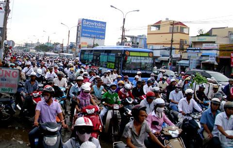 Saigon reports rise in traffic fatalities