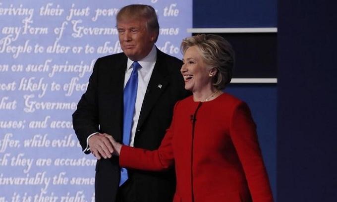 After debate, Trump says he raised $13 mln