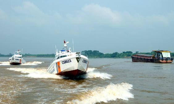Vietnam Coast Guard receives high-speed patrol boats