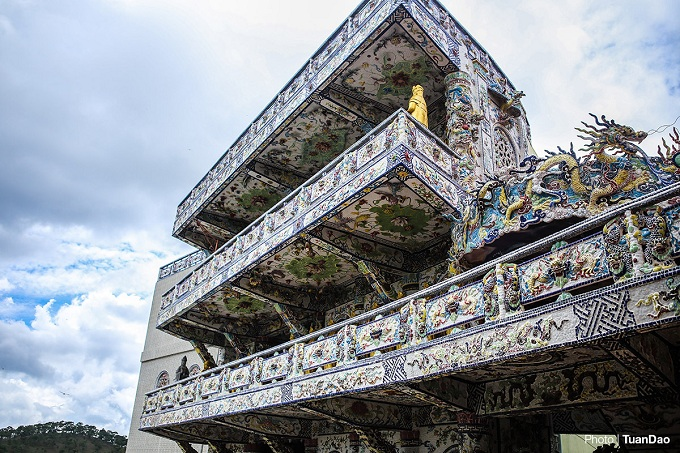 Exterior of the shrine.