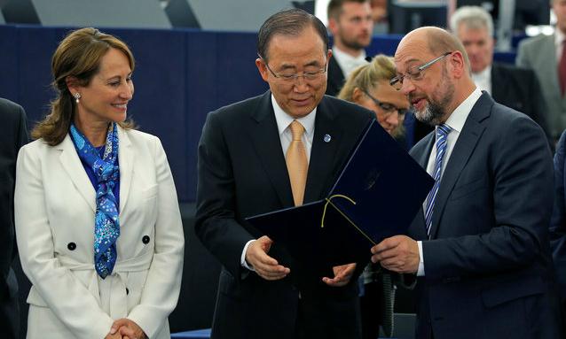 Paris climate deal to enter force after EU green light