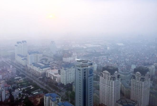 Choking smog makes Hanoi's pollution 'very unhealthy'