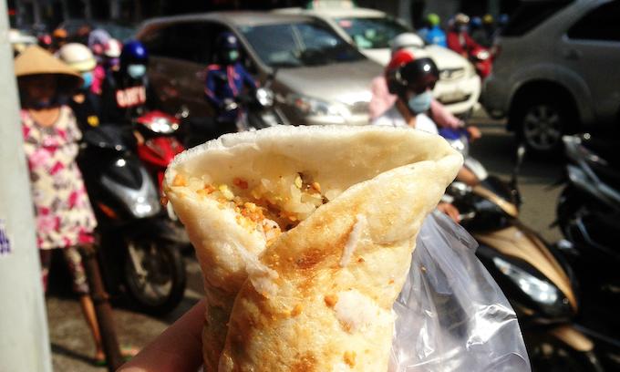 Durian sticky rice 'burrito' bridges breakfast divide