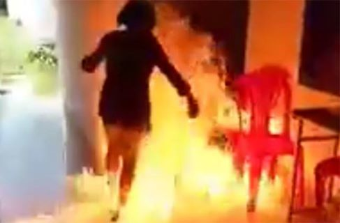 Vietnamese teenage girl sets herself on fire in social media dare gone wrong