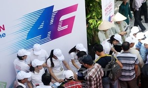 The race of 4G wireless services officially begins in Vietnam