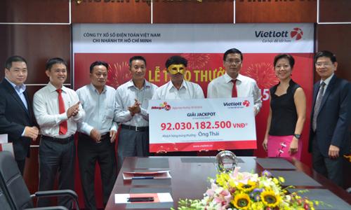 $3.7 million transferred to Vietnam's first jackpot winner