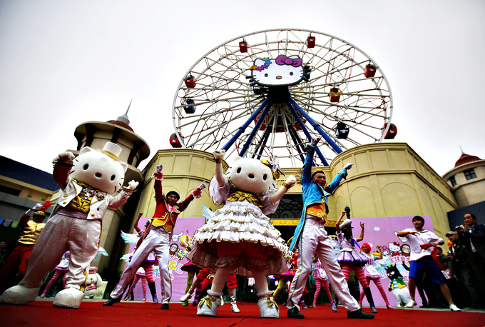 Meow. Hanoi to have Hello Kitty theme park