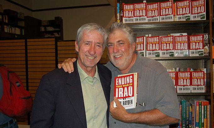 Prominent anti-Vietnam War activist Tom Hayden dead at 76