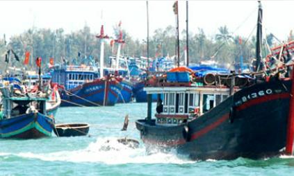 Thai Navy seizes 28 Vietnamese fishermen